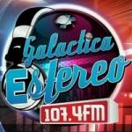 Logo da emissora Radio Galáctica Estéreo 107.4 FM