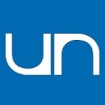 Logo da emissora UN Radio 98.5 FM