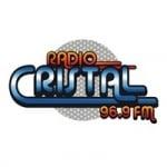 Logo da emissora Radio Cristal 96.9 FM