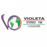 Logo da emissora Radio Violeta Stereo 89.7 FM
