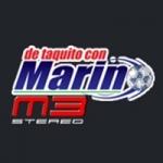 Logo da emissora Radio De Taquito con Marin M3 Stereo