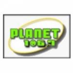 Logo da emissora KPLN 106.7 FM
