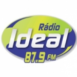 Logo da emissora Rádio Ideal 87.9 FM