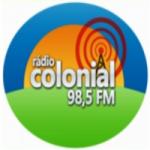 Logo da emissora Rádio Colonial 98.5 FM