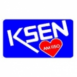 Logo da emissora KSEN 1150 AM