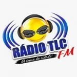 Logo da emissora Rádio Comunitária TLC 87.9 FM