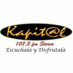 Logo da emissora Radio Kapital Stereo 107.3 FM