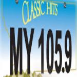 Logo da emissora KWMY 92.5 FM