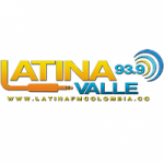 Logo da emissora Radio Latina 93.9 FM