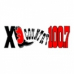 Logo da emissora KXLB 100.7 FM