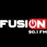 Logo da emissora Radio Fusión 90.1 FM