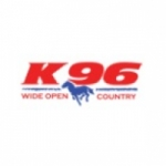 Logo da emissora KZIN 96.7 FM