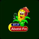 Logo da emissora Rádio Abatiá 87.9 FM