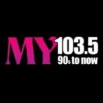 Logo da emissora KZMY 103.5 FM