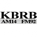 Logo da emissora Radio KBRB 1400 AM