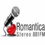 Logo da emissora Radio Romántica Stereo 88.1 FM
