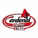 Logo da emissora Radio Cardenal Stereo 94.7 FM