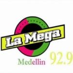 Logo da emissora Radio La Mega 92.9 FM