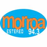 Logo da emissora Radio Morroa Estéreo 94.3 FM
