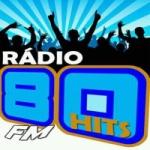 Logo da emissora Rádio 80 Hits FM