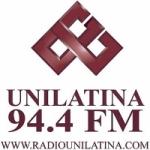 Logo da emissora Radio Unilatina 94.4 FM