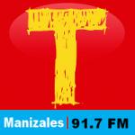 Logo da emissora Radio Tropicana 91.7 FM