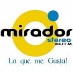 Logo da emissora Radio Mirador Stereo 104.1 FM