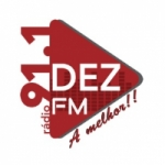 Logo da emissora Rádio Dez 91.1 FM