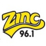 Logo da emissora Radio Zinc 96.1 FM