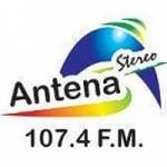 Logo da emissora Radio Antena Stereo 107.4 FM
