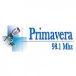 Logo da emissora Radio Primavera 98.1 FM