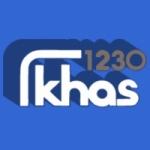Logo da emissora Radio KHAS 1230 AM