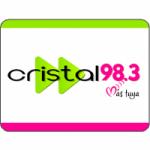 Logo da emissora Radio Cristal Stereo 98.3 FM
