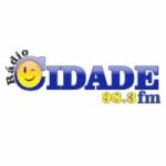 Logo da emissora Rádio Cidade FM Antonina 98.3