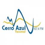 Logo da emissora Radio Cerro Azul Stereo 107.4 FM