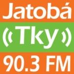 Logo da emissora Rádio Jatobá Tky FM