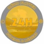 Logo da emissora Rádio Flatter
