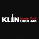 Logo da emissora KLIN 1400 AM