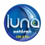 Logo da emissora Radio Luna Estéreo 106.4 FM