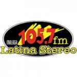 Logo da emissora Radio Málaga Latina Stereo 105.7 FM