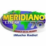 Logo da emissora Radio Meridiano 70 1170 AM