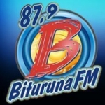 Logo da emissora Rádio Bituruna 87.9 FM