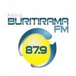 Logo da emissora Rádio Buritirama 87.9 FM