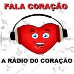 Logo da emissora Rádio Fala Coração