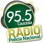 Logo da emissora Radio Policía Nacional 95.5 FM
