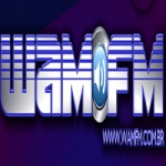Logo da emissora WAM FM