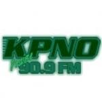Logo da emissora KPNO 90.9 FM