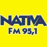 Logo da emissora Rádio Nativa 95.1 FM