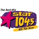 Logo da emissora KSRZ 104.5 FM