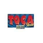 Logo da emissora Radio Toca Stereo 105.3 FM